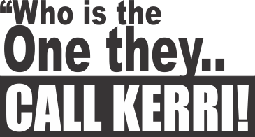 Who is the one they call Kerri? Kerri with an 'i' for detail that is!